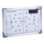 Tablica taktyczna do piłki nożnej 30 x 45 z magnesami