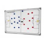 Tablica taktyczna do piłki nożnej 60 x 90