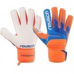 Rękawice Reusch Prisma SD pomarańczowo-niebieskie