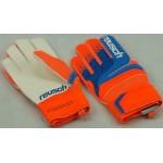 Rękawice Reusch Prisma RG pomarańczowo-niebieskie