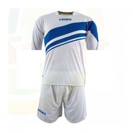 Strój sportowy LEGEA Toledo - biało-niebiesko-złoty