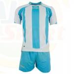Strój LEGEA Madrid MC biało-błękitny