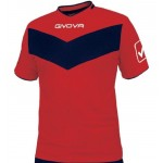 Koszulka Givova Vittoria czerwono-granatowa