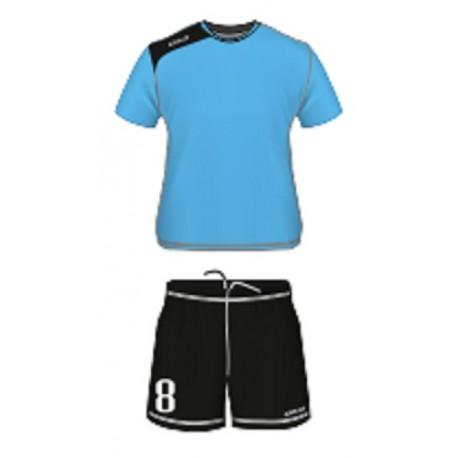 Strój Colo Team niebiesko-czarny