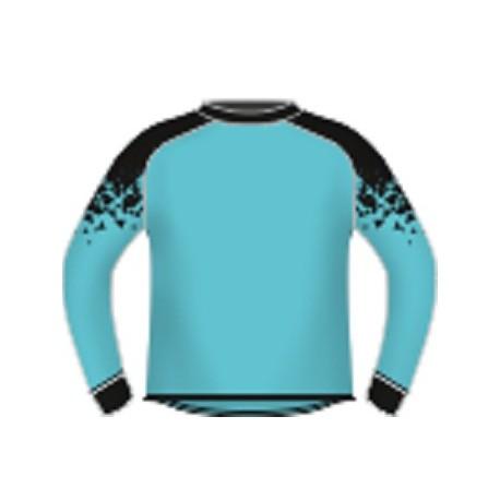 Bluza bramkarska Blow niebiesko-czarna