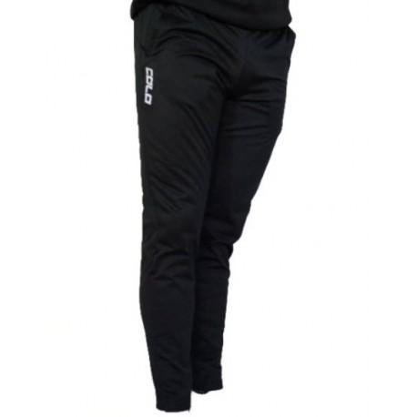 Spodnie Colo Fever czarne z zamkiem