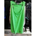 Koszulka damska na ramiączka LEGEA Completo Swap zielona