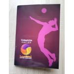 Zeszyt kibica Tubądzin Volley MOSiR Sieradz - jasny w linię (16 kartek)