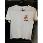 T-shirt męski kibica Tubądzin Volley MOSiR Sieradz - biały
