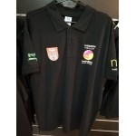 Koszulka polo kibica Tubądzin Volley męska czarna