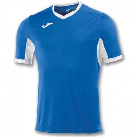T-shirt Joma Champion IV niebiesko-biały